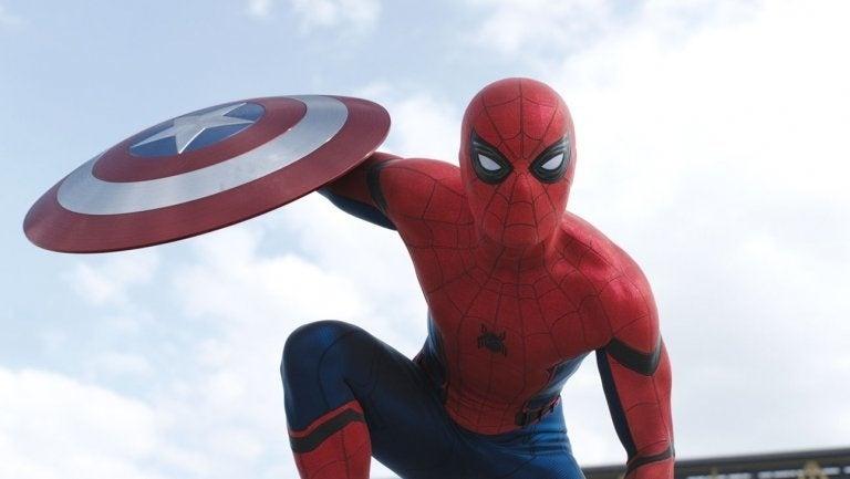 spider-man civil war tom holland