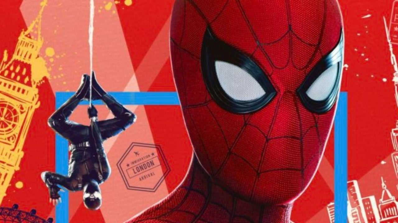 55bafde78b New Spider-Man: Far From Home IMAX Poster Revealed
