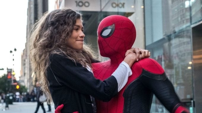"Spider-Man-Far-From-Home-MJ-Peter ""title ="" Spider-Man-Far-From-Home-MJ-Peter ""height ="" 506 ""width ="" 900 ""data-item ="" 1176579 ""/>    <figcaption> (Photo: Columbia Pictures / Sony Pictures) </figcaption></figure> <p><a href="