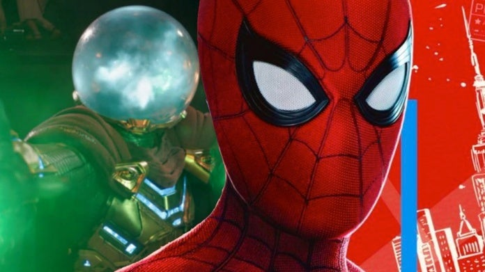 Spider-Man Far From Home Spidey Mysterio comicbookcom