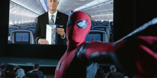 United Airlines Flyers Are Getting Spider-Man: Far From Home Amenity Kits
