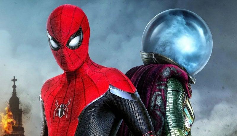 spider-man mysterio poster