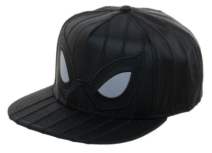 """Spider-Man Stealth Tailcoat """"title ="""" Spider-Man Stealth Tailcoat """"height ="""" 504 """"width ="""" 696 """"data-item ="""" 1174947 """"/> </figure> <p>  Peter Parker (Tom Holland) <em> Spider Man: Far From Home </em> will feature several new Spider-Man suits, but it's the slimmed-down stealth suit that has attracted the most attention so far. See, an official Marvel hat, based on the stealth suit has been released, you can pre-order it here for $ 30.99 and shipping is scheduled for June 30. </p> <p>  In addition to the textured Spider-Man stealth suit design Granted, this feature is terrible for stealth, but it's quite helpful if you're not hit by a car on a night drive. </p> <figure class="""