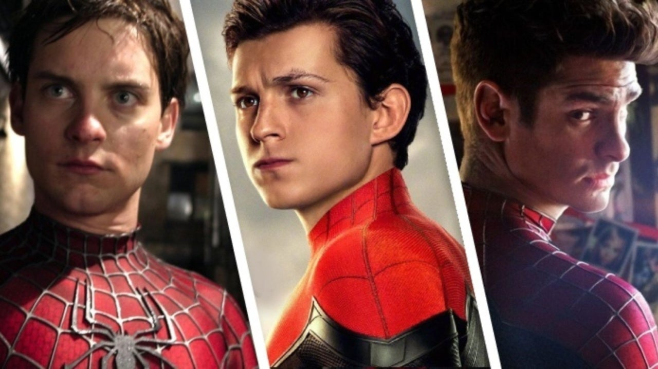 Spider-Man: Far From Home Fanart Unites Tom Holland, Andrew Garfield, and Tobey Maguire