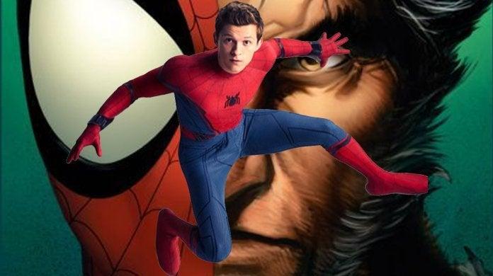 Spider-Man Wolverien Tom Holland