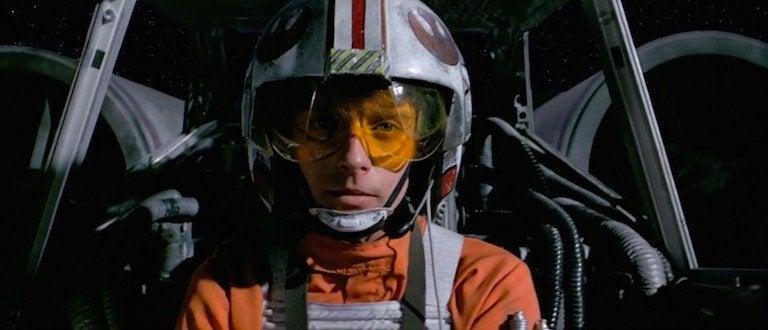 star wars a new hope mark hamill luke skywalker death star