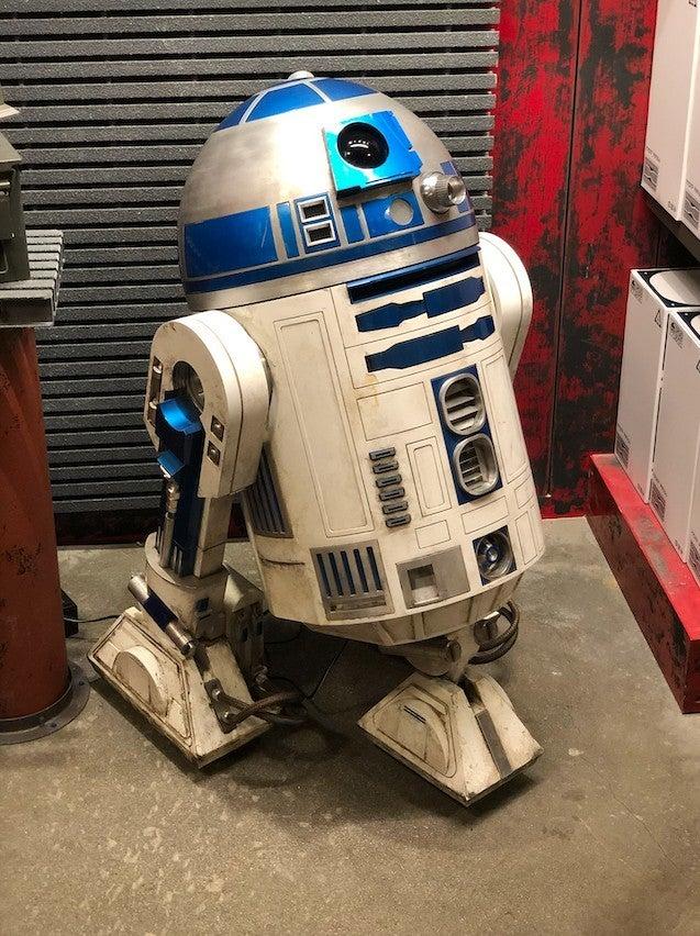 Star Wars Galaxy's Edge R2 D2 ComicBook.com
