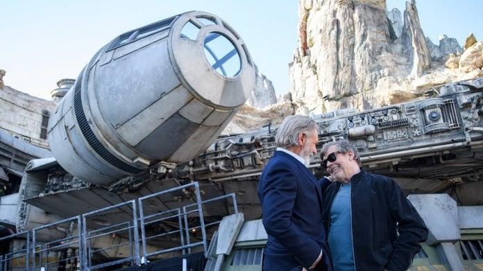 Star Wars Galaxys Edge Mark Hamill Harrison Ford Disneyland