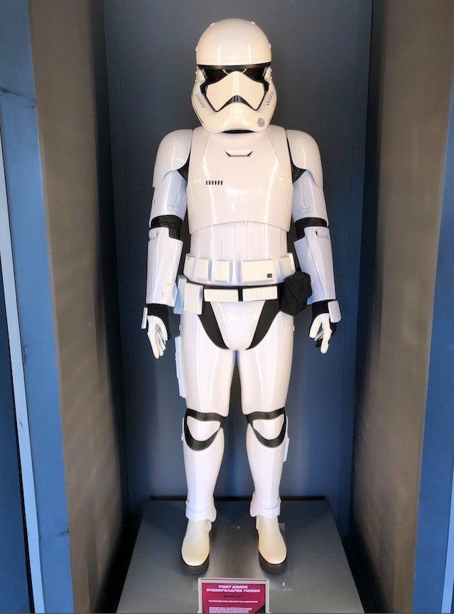 Star Wars Galaxys Edge Stormtrooper armor ComicBook.com