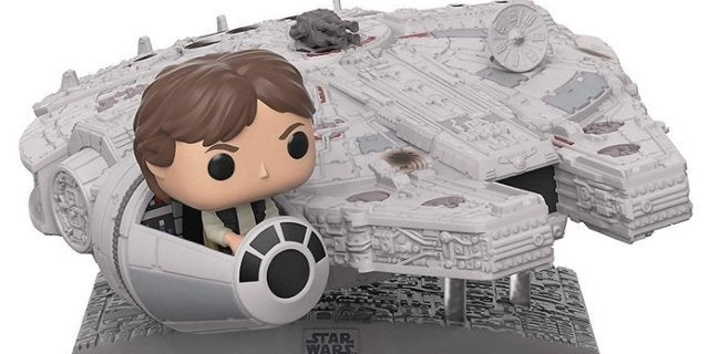 Funko's Massive Star Wars Millennium Falcon with Han Solo Pop is Live