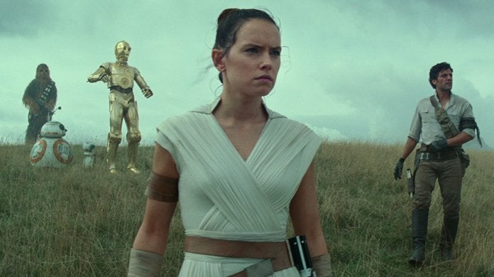 star wars the rise of skywalker daisy ridley rey