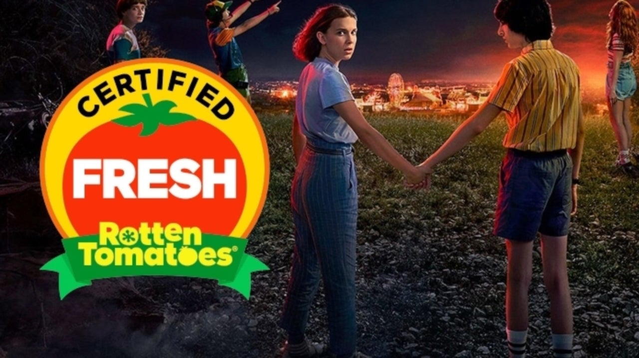 Stranger Things 3 Is Already Certified Fresh on Rotten Tomatoes