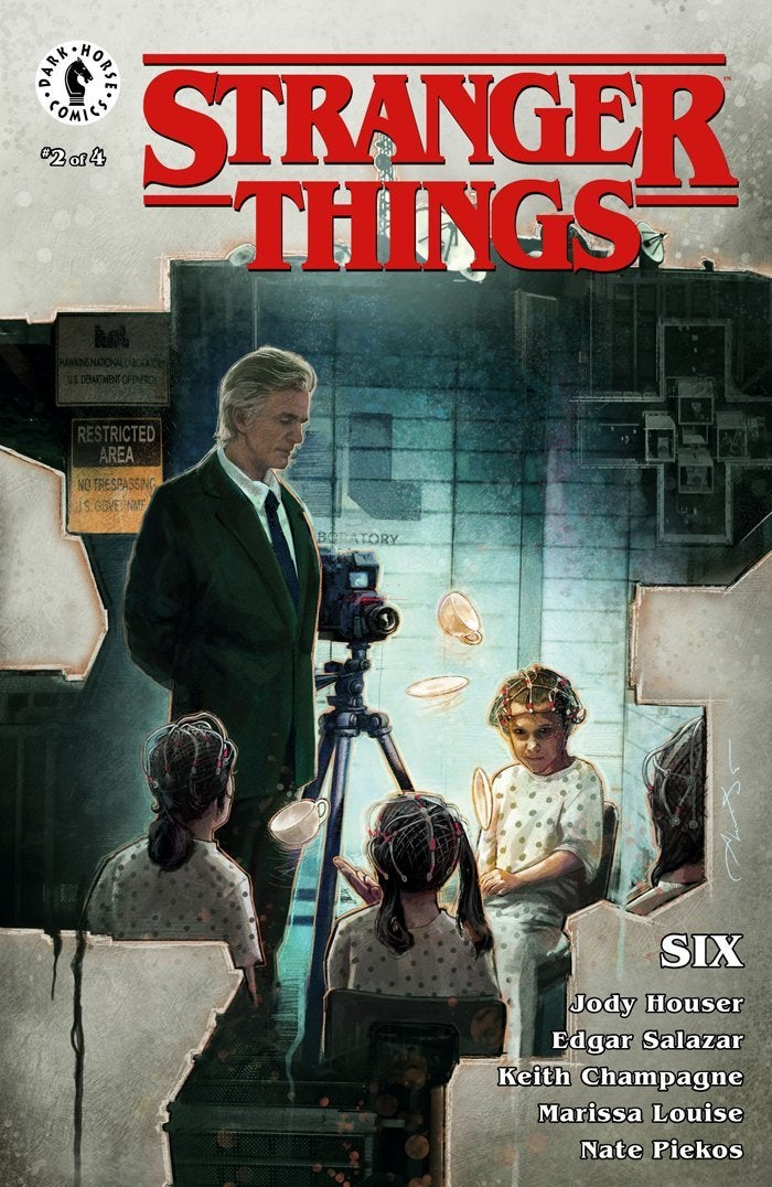 stranger things six cover issue 2