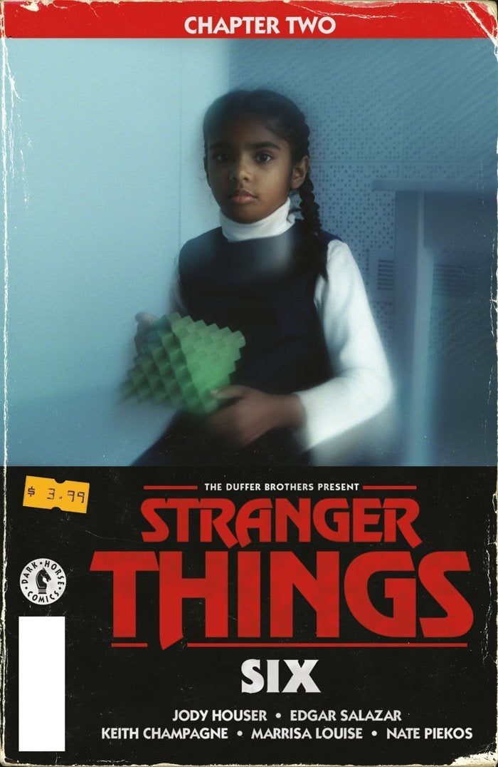 stranger things six issue 2 variant cover