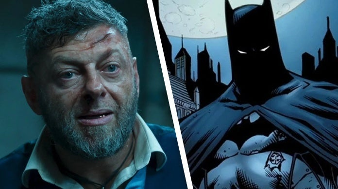 the batman andy serkis rumor
