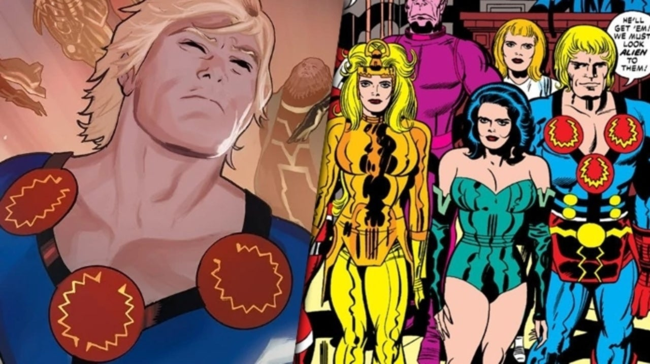 The Eternals Working Title Reportedly Revealed