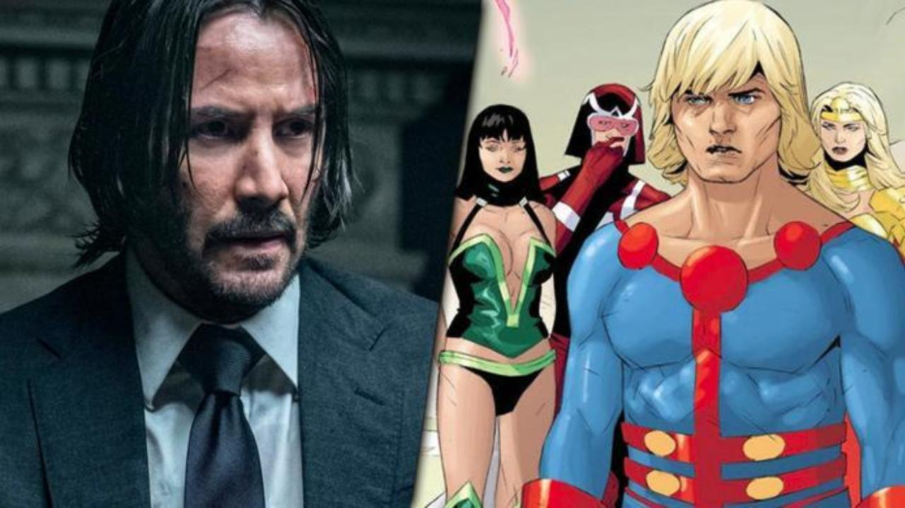 Image result for keanu reeves marvel