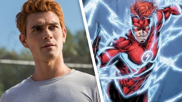 the flash kj apa wally west