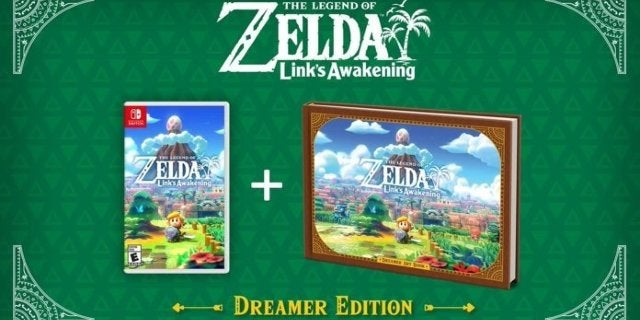 The Legend of Zelda: Link's Awakening Dreamer Edition is Back in Stock if You Hurry