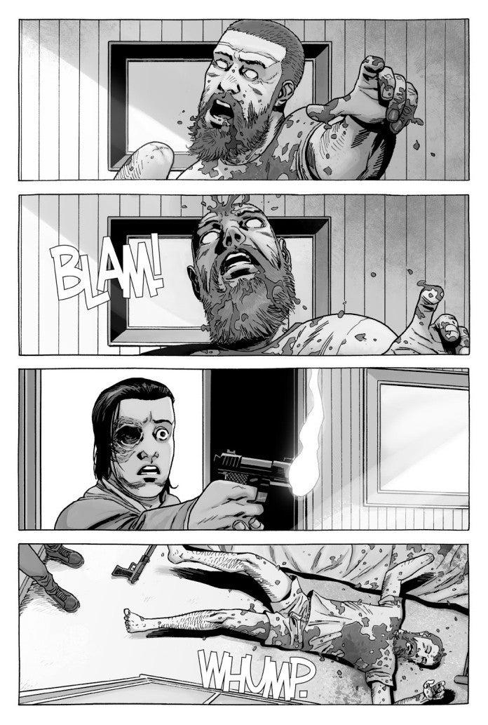 The Walking Dead 192 Carl Kills Rick