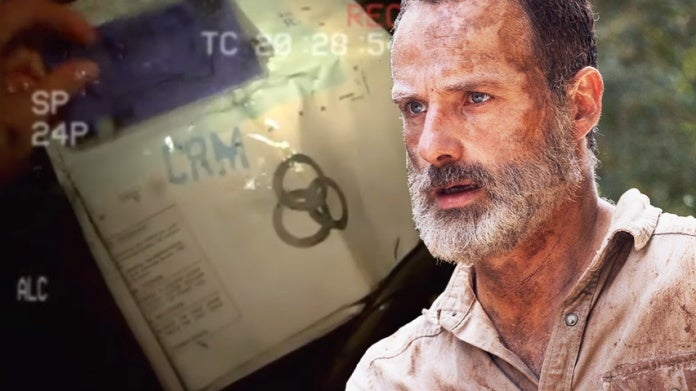 The Walking Dead Rick Grimes CRM helicopter ComicBookcom
