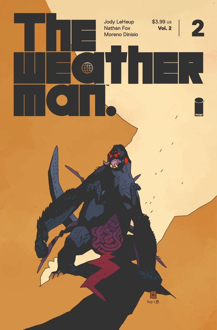 The-Weatherman-Mike-Mignola-Cover