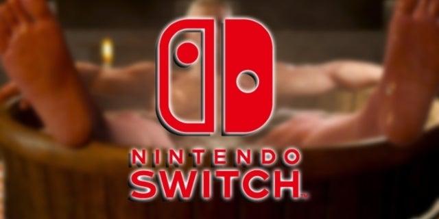 The Witcher 3 Nintendo Switch Bath Scene