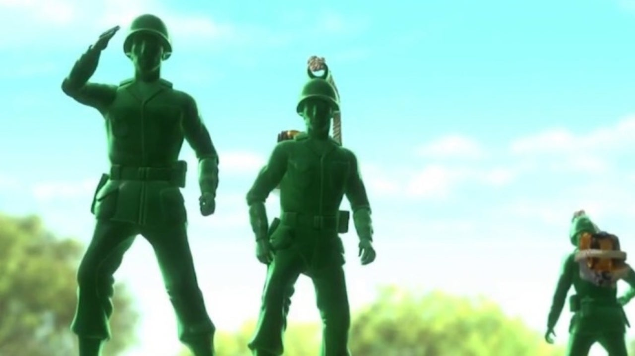 Toy Story 4 Director Producers Reveal Where The Green Army Men