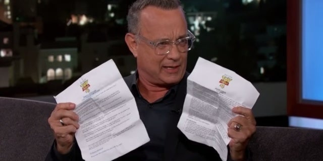 Toy Story 4 Tom Hanks