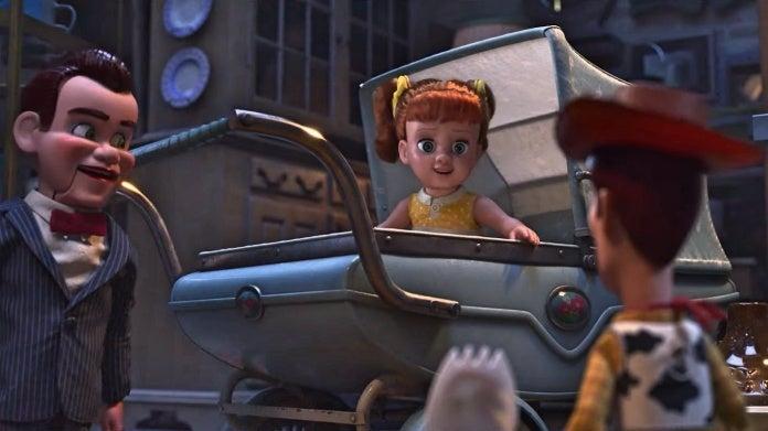 Toy Story 4 Woody Gabby Gabby