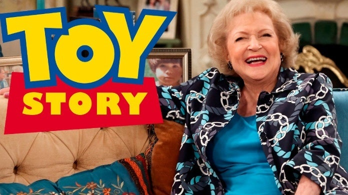 toy story betty white cameo