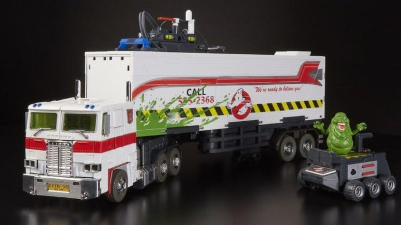 Transformers and Ghostbusters SDCC Exclusive Mashup Toy Revealed