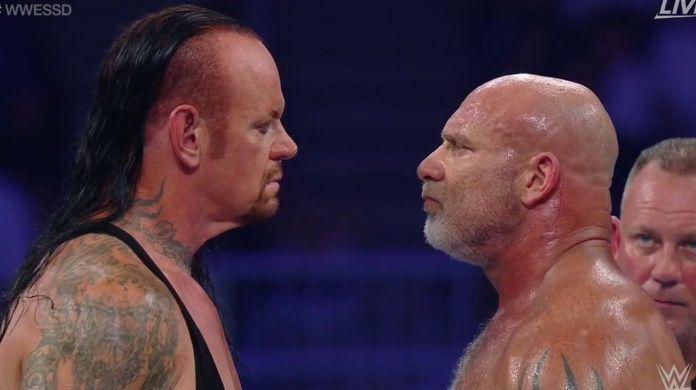 Undertaker-Goldberg-WWE