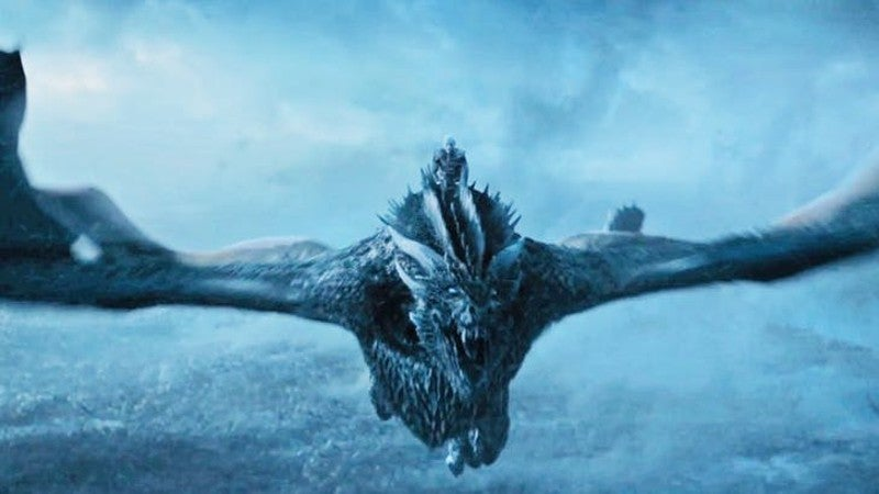 Viserion The Night King