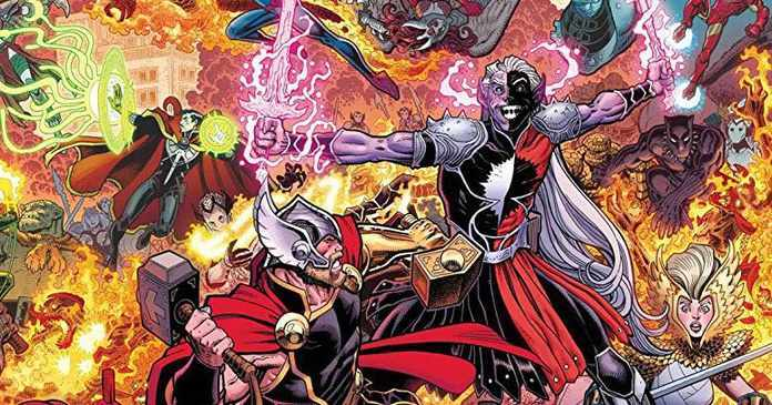 War of the Realms Event - Cover