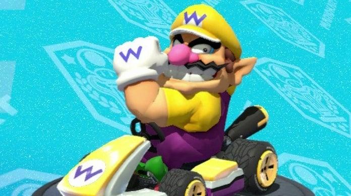 Wario é o melhor personagem de Mario Kart
