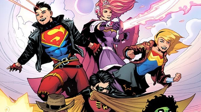 wonder comics young justice