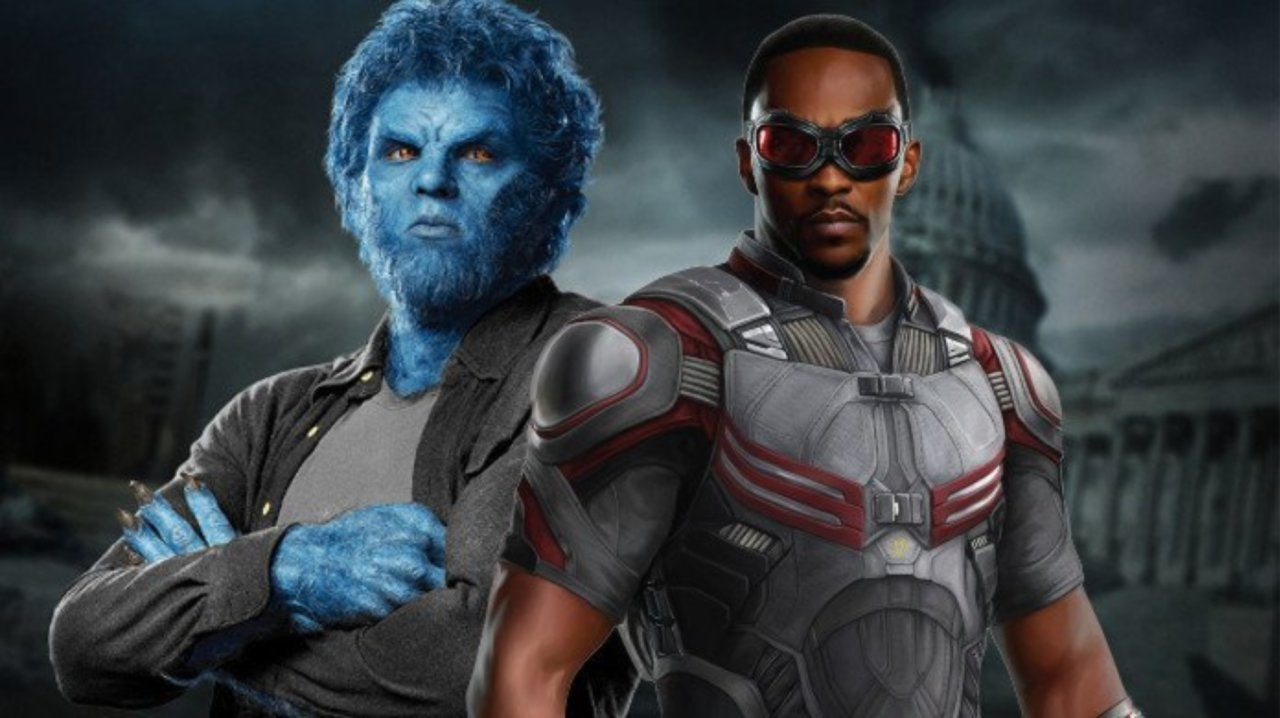 Anthony Mackie Wanted to Play Beast in the X-Men Movies
