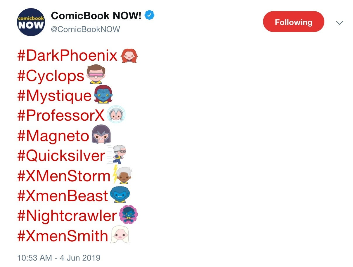 Paste emojis twitter copy 🐦 List
