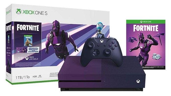 The Gradient Purple Fortnite Xbox One S Battle Royale Bundle