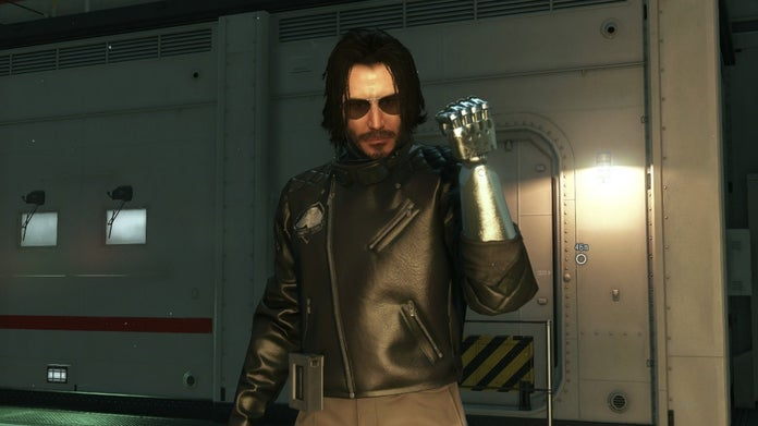 New Mod Adds Keanu Reeves to Metal Gear Solid V