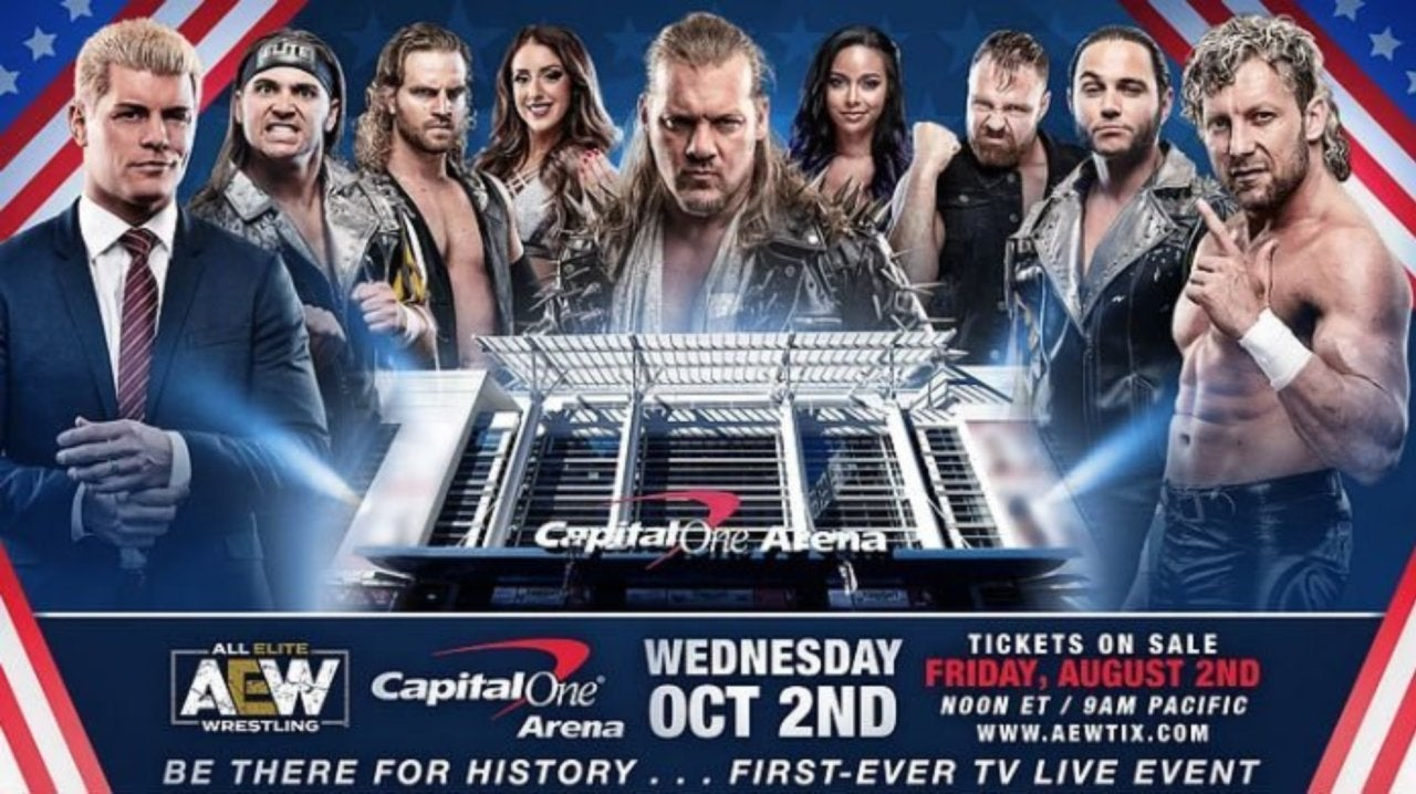 AEW Sells Out TNT Debut Event In Washington, D C