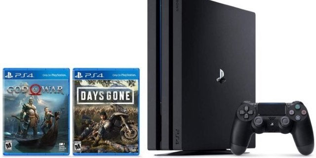 Prime Day: PlayStation 4 Pro Bundle With God of War and Days Gone For $350