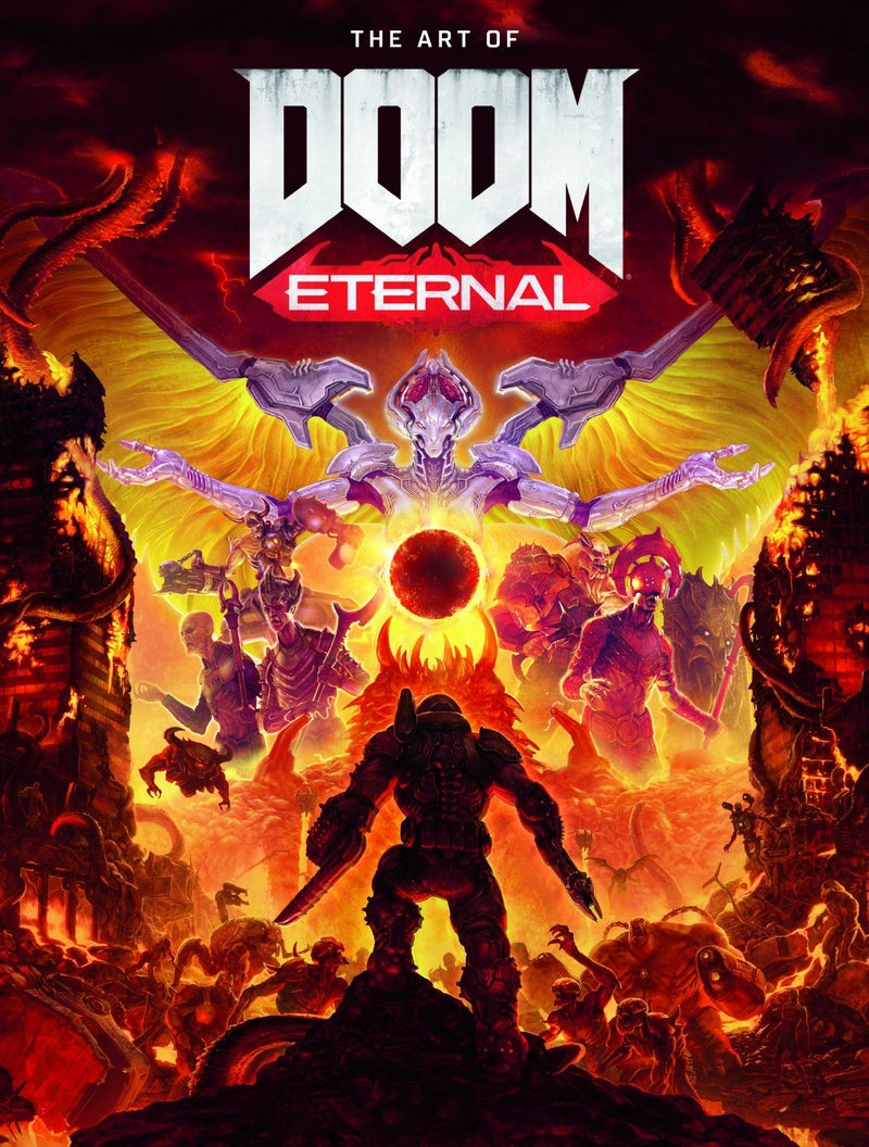 art of doom eternal cover