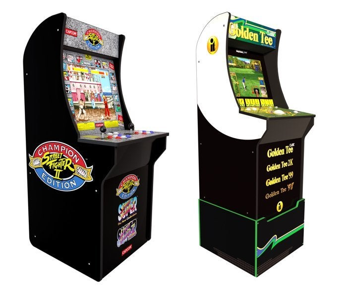 Save $100 on Street Fighter 2 and Golden Tee Arcade1Up