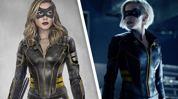 arrow laurel lance black canary costume concept art