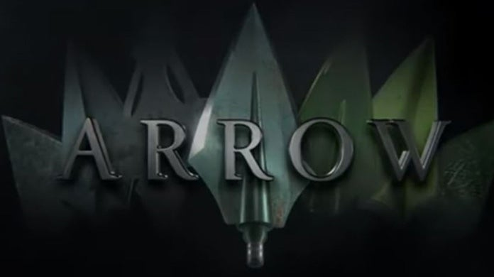 arrow season 8 logo sdcc