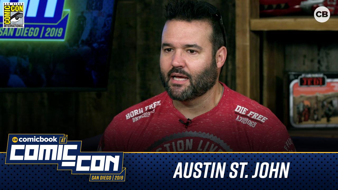 Austin St. John - San Diego Comic-Con 2019 screen capture