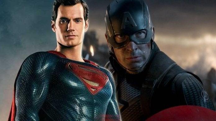avengers endgame captain america superman
