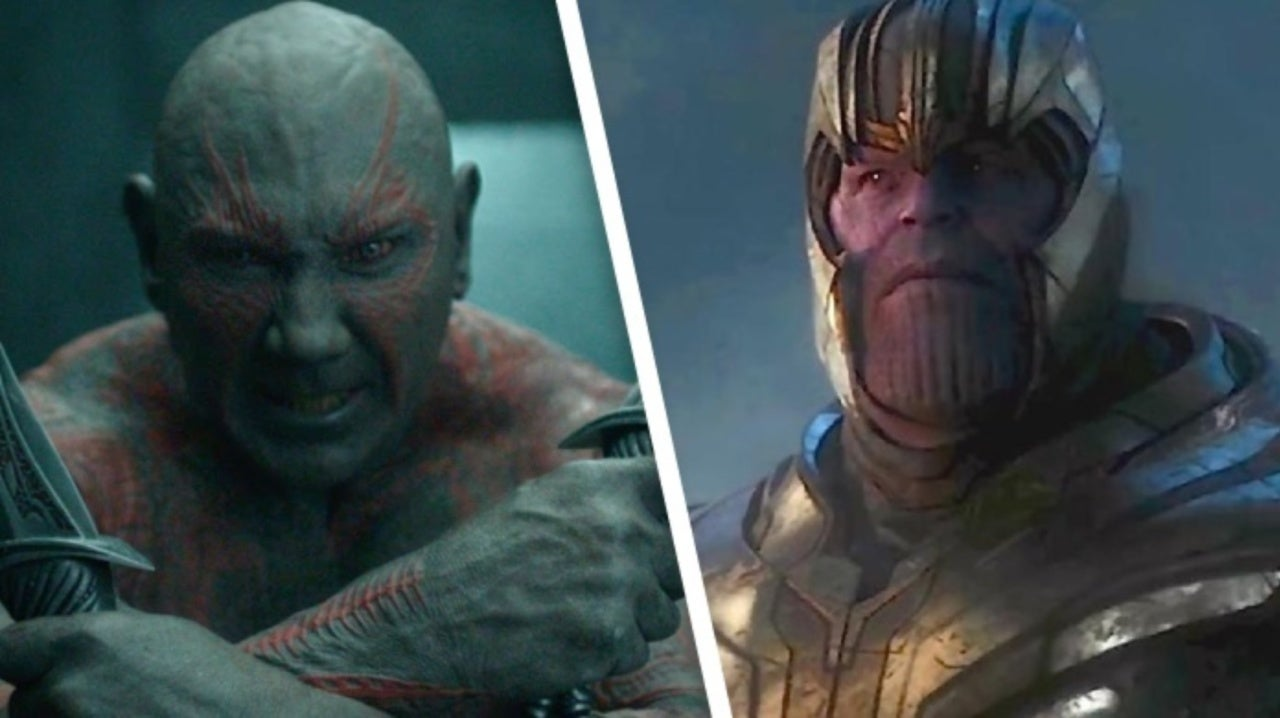 Avengers: Endgame's Dave Bautista Thinks Drax Will Be Upset He Didn't Kill Thanos Himself